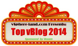 Vote for Top vBlog 2014